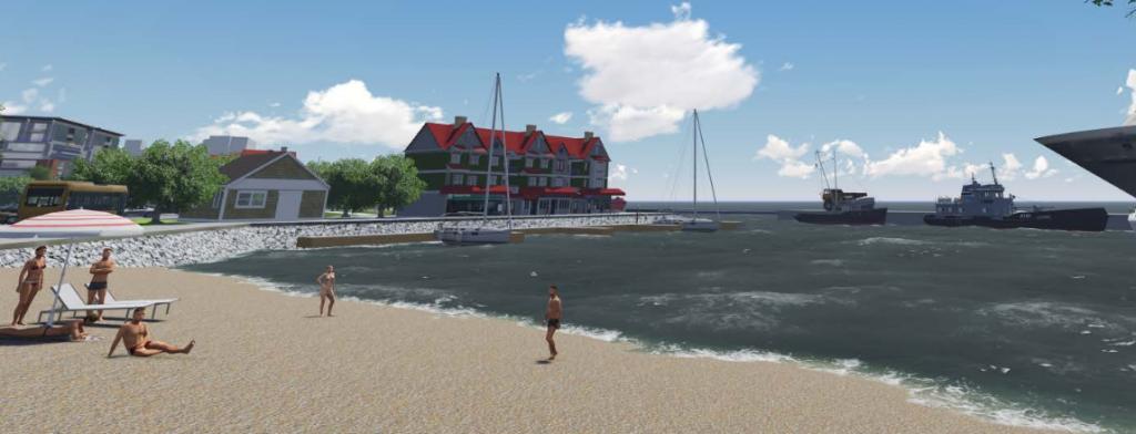 Source: Ekistics Sydney Harbourfront Conceptual Vision & Design 2014