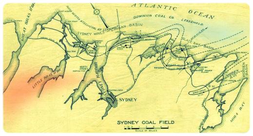 Sydney Coal Field (Louis Frost Notes http://www.mininghistory.ns.ca/lfrost/lfcfa00.htm)