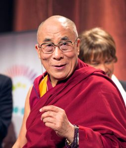 Tenzin Gyatso, 14th Dalai Lama (Source: Wikipedia)