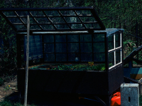 Cold frame, James Gardens Toronto, 1974. (Photo by WayneRay, own work, CC BY-SA 4.0 (https://creativecommons.org/licenses/by-sa/4.0)], via Wikimedia Commons)
