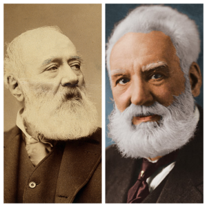 Antonio Meucci and Alexander Bell.