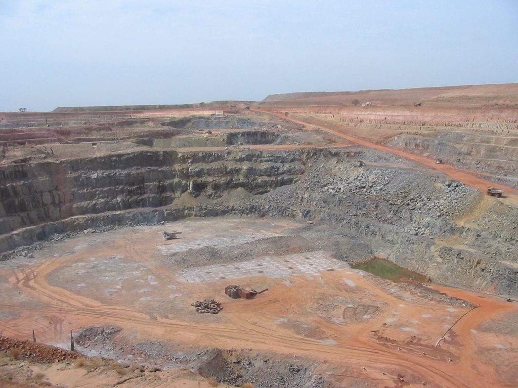 The Morila Gold Mine in Mali produced 200 tonnes of gold in the last 18 years. Mali is Africa's third largest gold producer, but it remains one of the monetarily poorest countries on earth. (Photo by Joan Baxter)