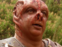 "In the Next Generation episode ""Darmok,"" Picard became stranded on a planet with a Tamarian captain named Dathon, whose species only spoke in metaphors, and attempted to learn his language. ""Darmok and Jalad at Tanagra"" was the crux of their communication. (Source: CBS)"