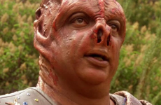 """In the Next Generation episode """"Darmok,"""" Picard became stranded on a planet with a Tamarian captain named Dathon, whose species only spoke in metaphors, and attempted to learn his language. """"Darmok and Jalad at Tanagra"""" was the crux of their communication. (Source: CBS)"""