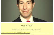 Anthony Housefather, Bill C-404