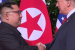 Kim Jong-un and Donald Trump, Singapore Summit, 12 June 2018. (Source: NBC News video https://www.nbcnews.com/video/trump-and-kim-meet-at-historic-singapore-summit-1253541443746?cid=par-sy-embarqmailcom)