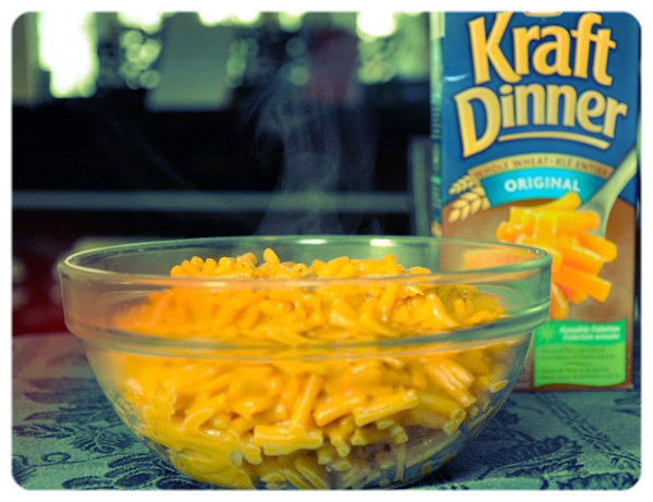Kraft Dinner. Made with love, by...Big Tobacco?