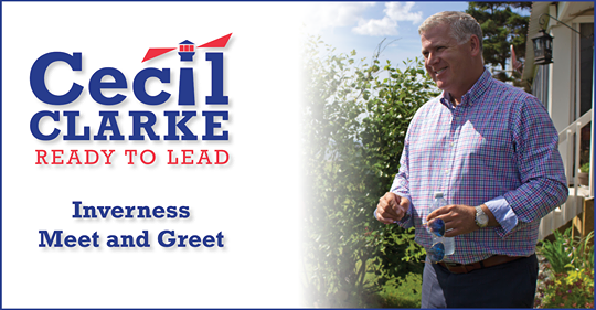 Cecil Clarke meet and greet, Inverness