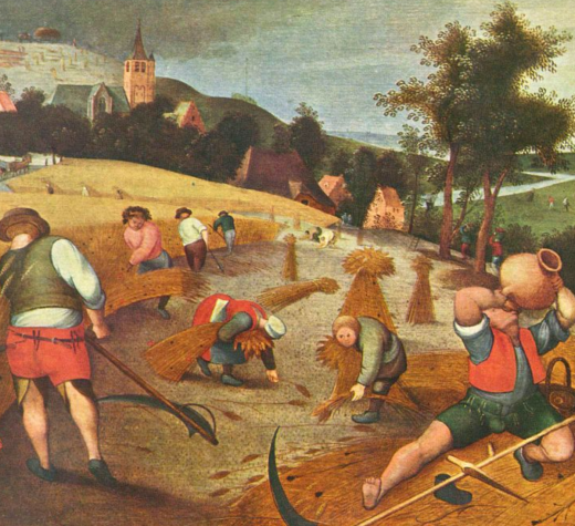 Der Sommer by Abel Grimmer, 1607. (Public Domain via Wikimedia Commons)