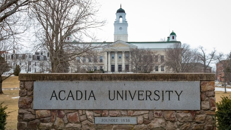 Acadia University. (Source: CBC)