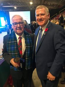Great to be here with former Port Hawkesbury mayor Billy Joe MacLean - a proud member of our team. Thanks for joining us today! #NSPCLDR