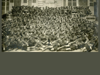 85th Cape Breton Highlandes, WWI. (Source Beaton Institute https://www.cbu.ca/campus/beaton-institute/)