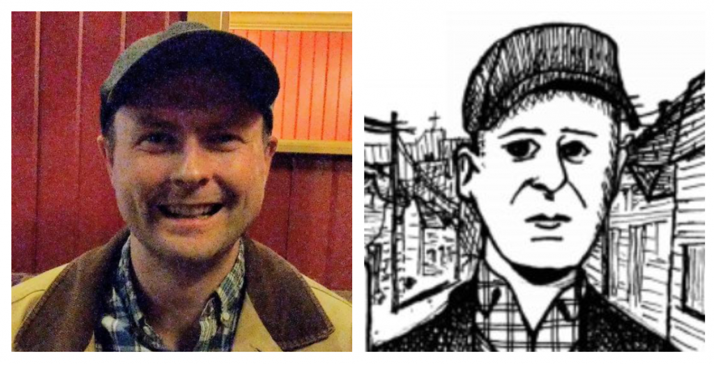 Donnie Calabrese and his alter-ego from the graphic novel, Coady.
