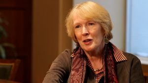Margaret MacMillan (Source: YouTube https://www.youtube.com/watch?v=w12q-86nLDc)