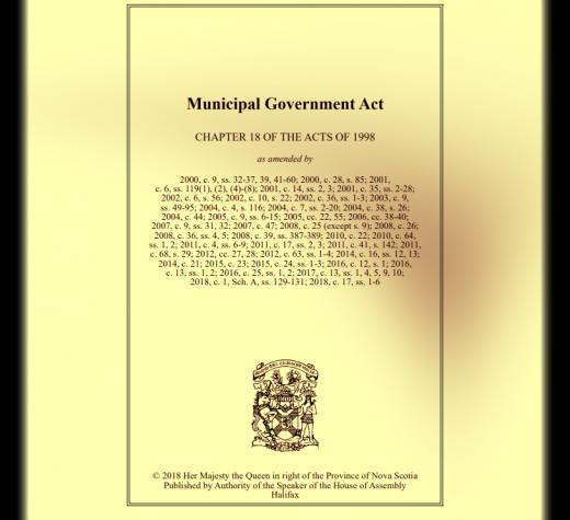 Letter to the Editor: Breaching Governing Legislation