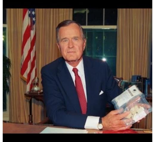No More Lip Service for George H. W. Bush (Part I)