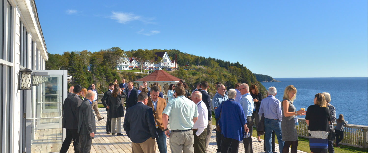 "Local businesspeople providing ""regional leadership on economic priorities."" (Source: CB Partnership https://capebretonpartnership.com/about/)"