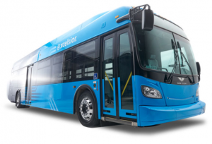 Xcelsior electric bus by New Flyer. (Source: New Flyer website https://www.newflyer.com/buses/xcelsior-family/)