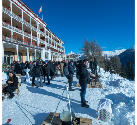 Farewell Lunch at the Schatzalp at the Annual Meeting 2019 of the World Economic Forum in Davos,January 2019 ©World Economic Forum / Pascal Bitz