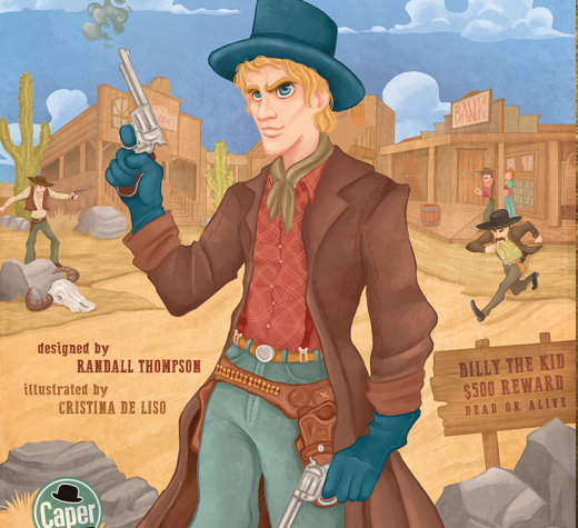 """Cover """"Get Billy the Kid!"""" by Caper Games"""