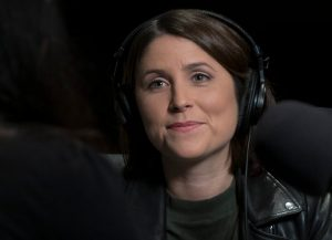 Jayme Poisson (Source: CBC https://www.cbc.ca/radio/frontburner)