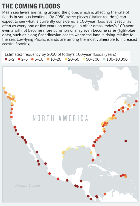 Future flooding graphic. Source: Nature