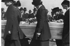 Women pallbearers in Flint, Michigan. Source: YouTube https://www.youtube.com/watch?v=3RkYn5M14gY