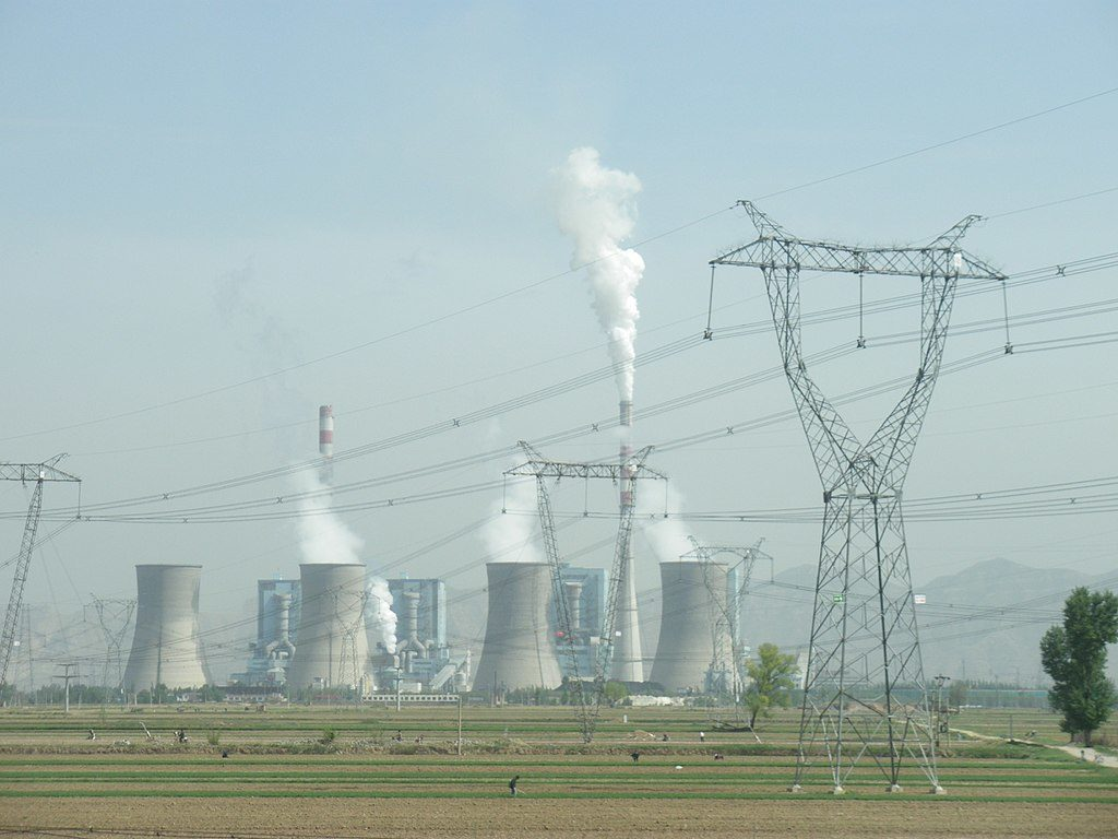 Photo of a coal-fired power plant in Shuozhou, Shanxi, China Kleineolive [CC BY 3.0 (https://creativecommons.org/licenses/by/3.0)]