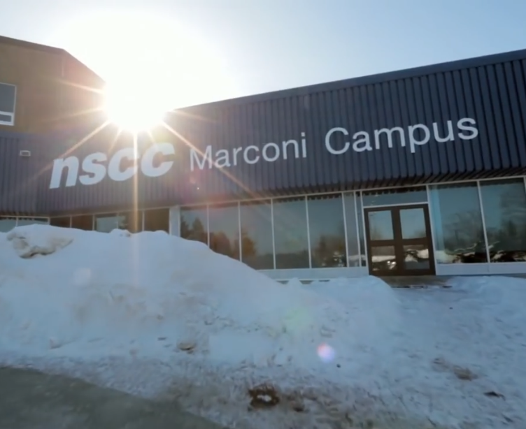 NSCC Marconi Campus (Source: YouTube https://www.youtube.com/watch?time_continue=14&v=7UWWSMK287E)
