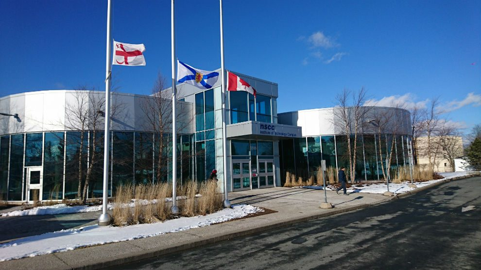 NSCC Institute of Technology, Halifax. (Photo by Ava Coulter, The Signal https://signalhfx.ca/nscc-to-create-mobile-app-for-international-students/)