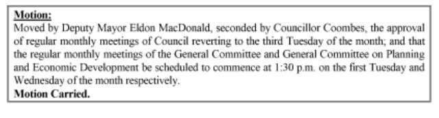 Source: CBRM Council Minutes 10 July 2018