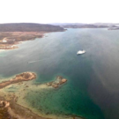 Akademik Ioffe, Gulf of Boothia. (Source: Nunatsiaq News https://nunatsiaq.com/stories/article/tsb-continues-its-look-august-2018-cruise-ship-grounding-in-nunavut/)