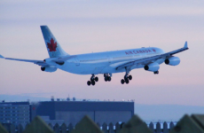 Air Canada Airbus landing in Montreal. (Photo by abdallahh at Flickr [CC BY 2.0 (https://creativecommons.org/licenses/by/2.0)]
