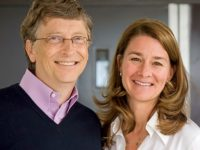 Bill and Melinda Gates (source: The Giving Pledge website)