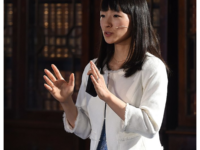 4 November 2015; Marie Kondo, Author and Organising Consultant, Marie Kondo, on the Society Stage during Day 2 of the 2015 Web Summit in the RDS, Dublin, Ireland. Picture credit: 4 November 2015; Marie Kondo, Author and Organising Consultant, Marie Kondo, on the Society Stage during Day 2 of the 2015 Web Summit in the RDS, Dublin, Ireland. Picture credit: Diarmuid Greene / SPORTSFILE / Web Summit