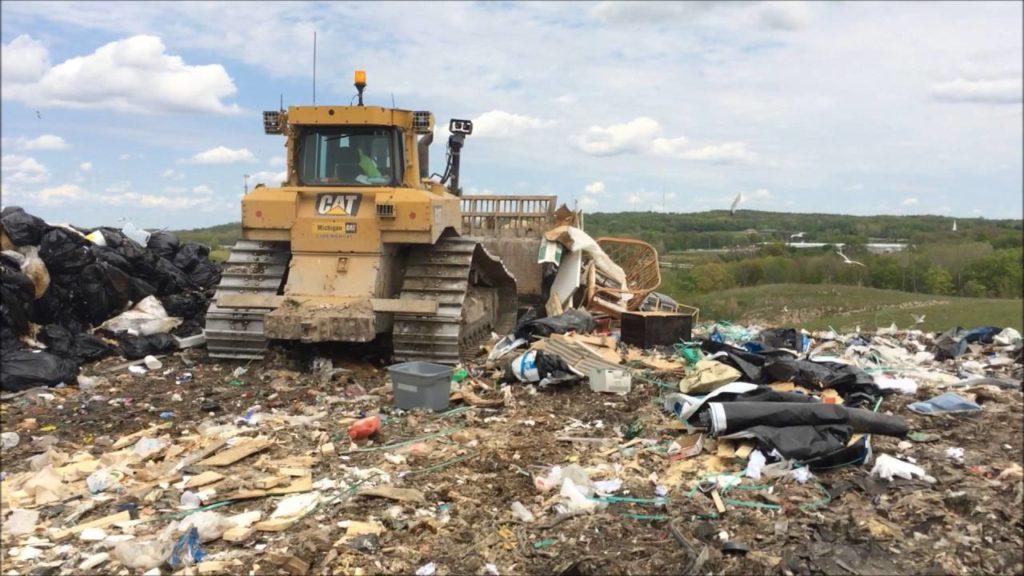 Landfill, South Kent, Michigan. (Source: YouTube https://youtu.be/Rphy1jspD3g)