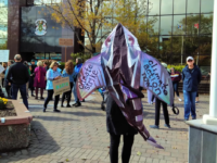 Climate strikers at Civic Centre, Sydney, NS. 27 September 2019. (Spectator photo)