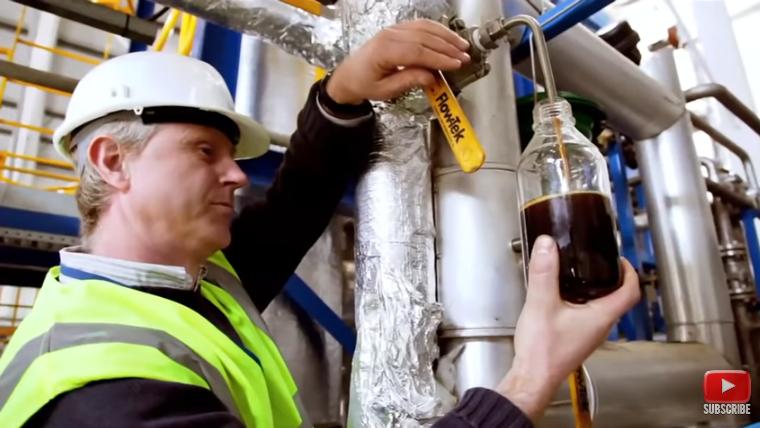 Cynar, plastics to fuel plant, Ireland.