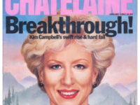 Kim Campbell featured on the cover of Chatelaine Magazine as Woman of the Year. (Source: www.kimcampbell.com)
