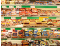 Processed meats in a supermarket. (Photo by Raysonho @ Open Grid Scheduler / Grid Engine, CC0, https://creativecommons.org/share-your-work/public-domain/cc0/ via Wikimedia Commons)