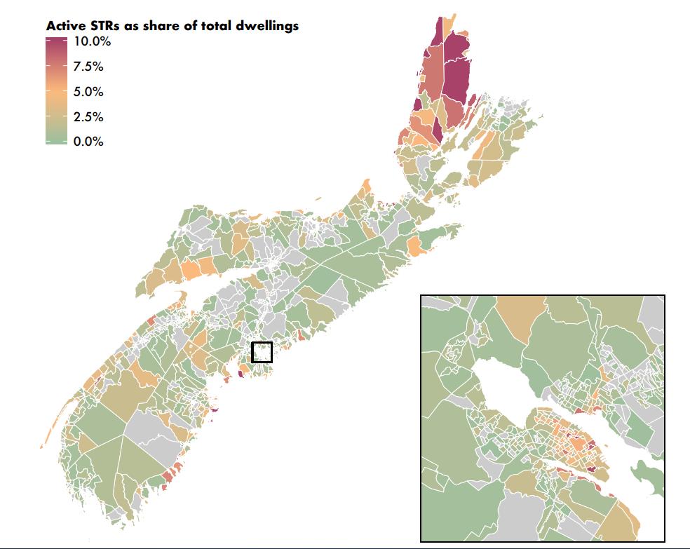 Short-term Rentals Nova Scotia