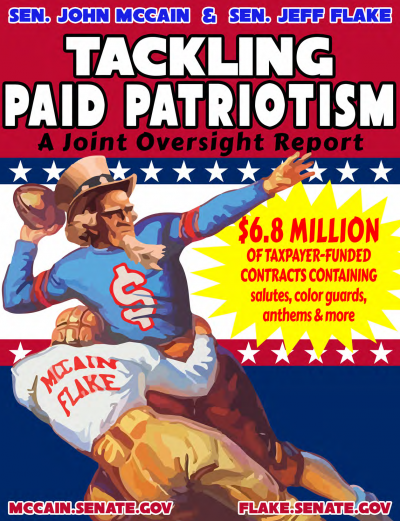 Tackling Paid Patriotism