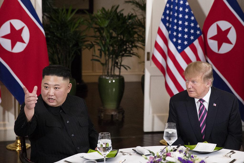 Kim Jong-un and Donald Trump. Hanoi, 27 February 2019. (Official White House Photo by Joyce N. Boghosian)