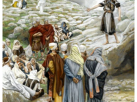 St Jean-Baptiste et les pharisiens by James Tissot - Online Collection of Brooklyn Museum; Photo: Brooklyn Museum, 2008, 00.159.47_PS2.jpg, Public Domain, https://commons.wikimedia.org/w/index.php?curid=10195815
