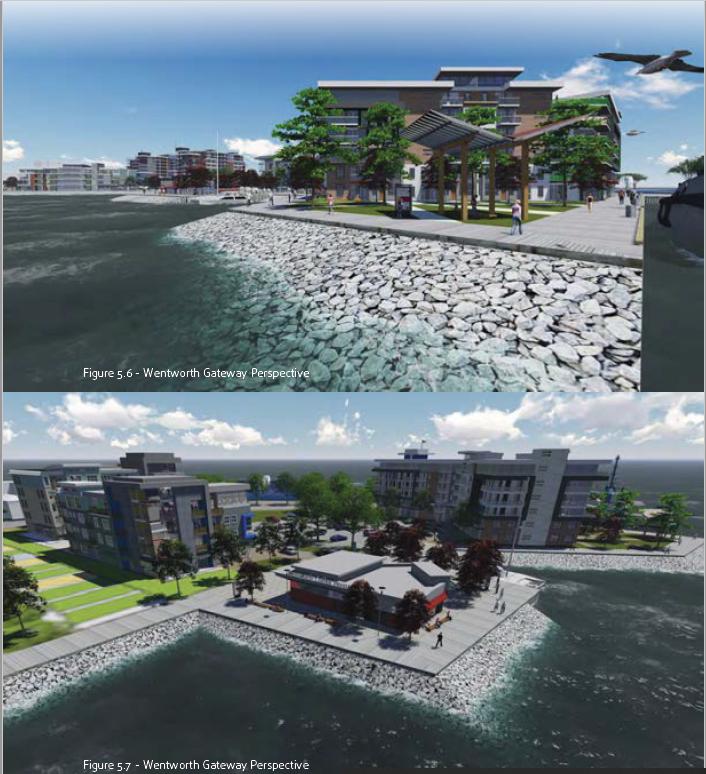 """Wentworth Gate"" Detail from Ekistics Sydney Harbourfront Conceptual Vision & Design"