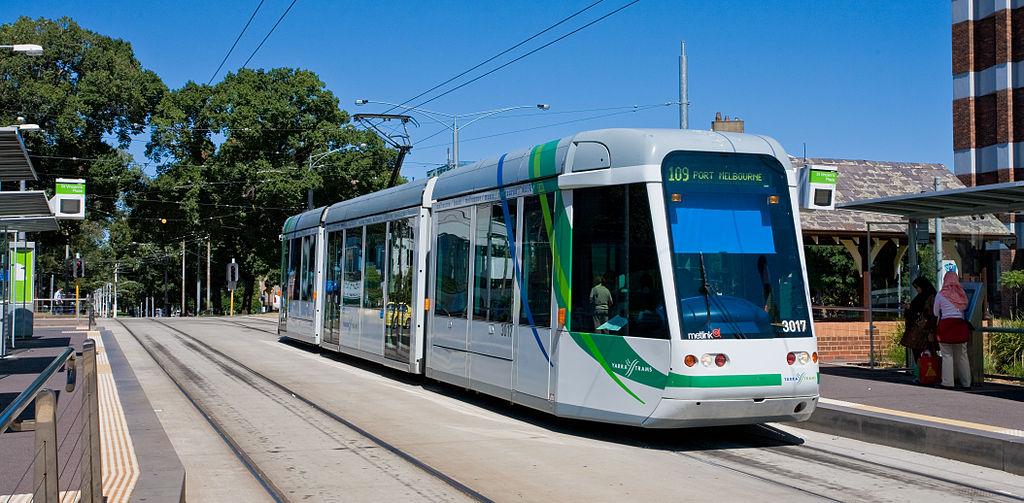 Tram, Melbourne, 2008.