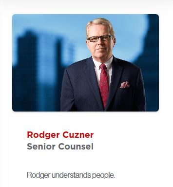 Rodger Cuzner bio, Rubicon
