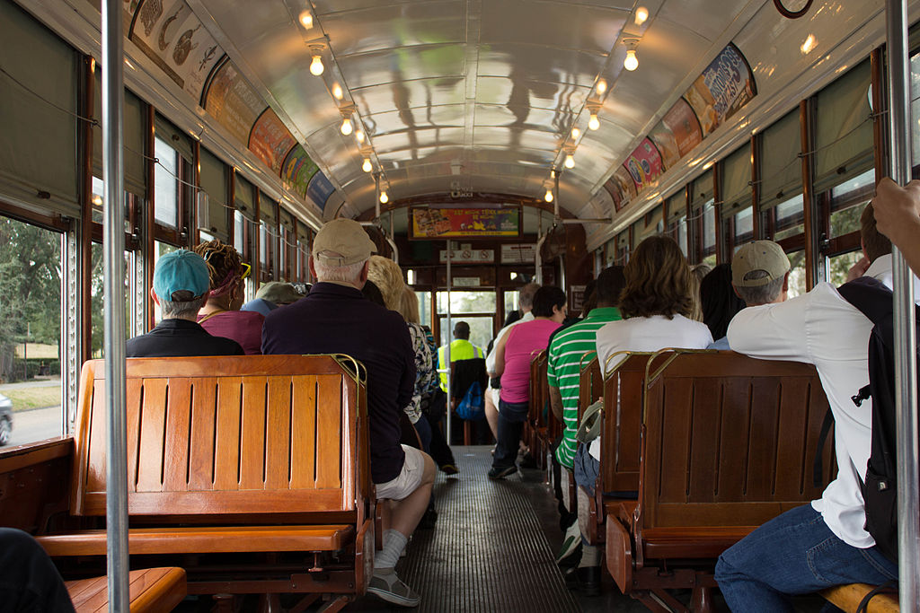 St. Charles streetcar, New Orleans.
