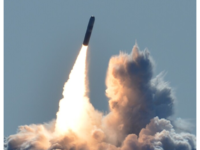 Trident II D5 nuclear missile (Photo by Ronald Gutridge/US Navy)
