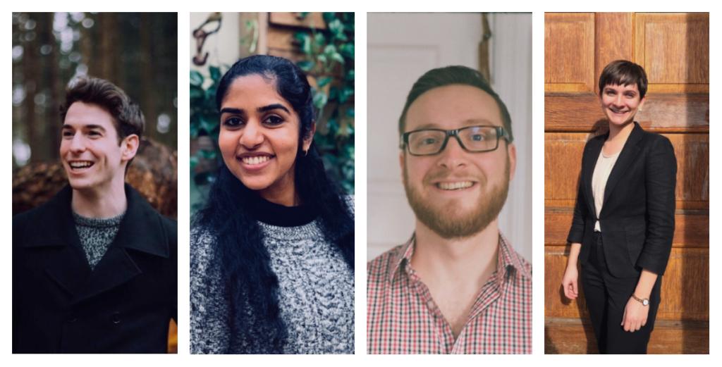 L-R: Matt Korda, Namratha Somayajula, Sam Ratner, Susan Nahvi